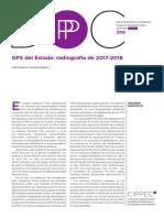 GPS del Estado Radiografía de 2017 2018