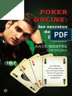 Poker Online - Los Secretos Del - Raul Mestre;Luis Valera