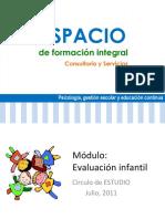 Evaluación infantil