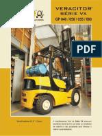 Catalogo Peças de Motor de Empilhadeiras