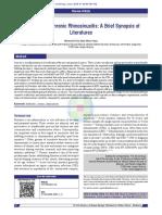 Antibiotics in Chronic Rhinosinusitis