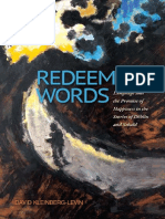 David Kleinberg-Levin - Redeeming Words - Language and the Promise of Happiness in the Stories of Döblin and Sebald (State University of New York Press, 2013)