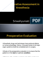 Preop Assess in Anesthesia