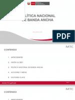 Plan Nacional de Banda Ancha