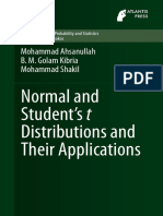 (Atlantis Studies in Probability and Statistics 4) Mohammad Ahsanullah, B.M. Golam Kibria, Mohammad Shakil (auth.)-Normal and Student´s t Distributions and Their Applications-Atlantis Press (2014) (1).pdf