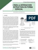 ITERACCION LIQUIDO - ESTRUCTURA