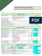 Dimensionnement d'un réseau unitaire (Excel).xls
