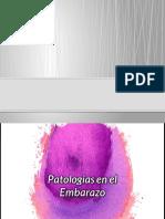 Patologias en El Embarazo (1)