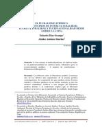 Pluralismo Jurídico, Multiculturalismo e Interculturalidad