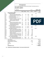 02.02 Presupuesto Obras de Captacion Chicote i