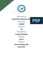 Derecho Civil 3 Paola Tarea No.6