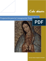 Preparación Para La Consagración Total a María. San Luis María Grignion de Montfort