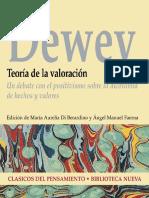 Dewey John - Teoria de La Valoracion