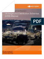 Underground Distribution Schemes Manual