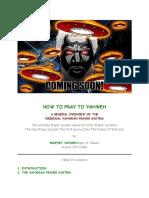 The Original Yahwean Prayer System