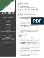 hayden armistead resume
