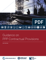 Guidance PPP Contractual Provisions en 2017