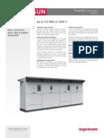 Dual b Series Inverter 1500vdc
