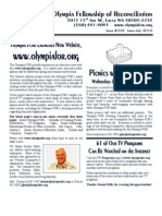 June-July 2010 Olympia Fellowship of Reconciliation Newsletter