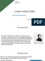 Metalurgia Del Litio
