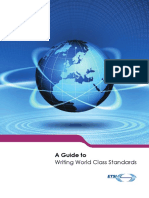 A Guide to Writing World Class Standards