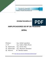 Circuitos Sintonizados-AmplisintoPS Rf Pequeña Señal