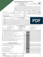 Formulario Anual de Ica