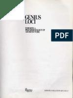 NORBERG SCHULZ, Christian Genius Loci-Towards a phenomenology of architecture.pdf