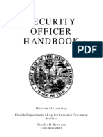 Security Officer Handbook
