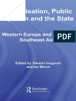 (Routledge Advances in International Relations and Global Politics) Takashi Inoguchi, Ian Marsh-Globalisation, Public Opinion and the State_ Western Europe and East and Southeast Asia-Routledge (2008)