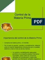 1. Control de La Materia Prima (1)