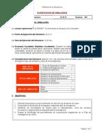 Planificación Del Simulacro CBLP. 29.10.17