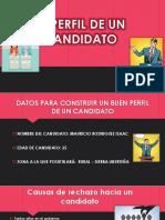 El Perfil de Un Candidato