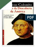 Diários Da Descoberta Da América- Cristovão Colombo