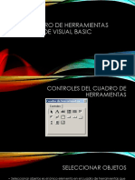 Diapos Cuadro de Herramientas de Visual Basic Algoritmos 2