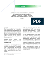 A NEW PARAMETER FOR CONDITION ASSESSMENT OF GENERATOR STATOR INSULATION