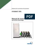 Hyamat SPD - Manual de Instalación