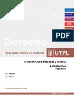 GUIA DIDACTICA DERECHO CIVIL
