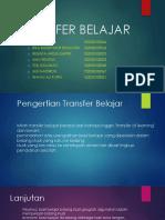 TRANSFER BELAJAR SESUAI MAKALAH.pptx