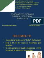 Polio, Tétano, Difteria