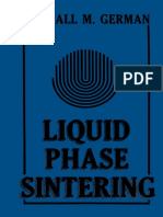 Liquid Phase Sintering by R.M. German