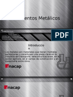 Elementos Metalicos
