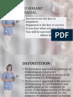 Performanc Appraisal