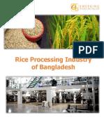 Rice Processing Industry of Bangladesh