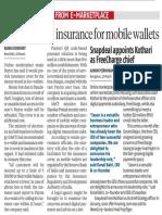 Paytm Bring Insurance