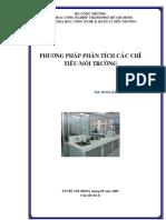 ĐHCN.phương Pháp Phân Tích Các Chỉ Tiêu Môi Trường (NXB Hồ Chí Minh 2009) - Đinh Hải Hà, 120 Trang