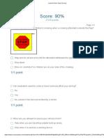 Learner Driver Quiz 3 Survey