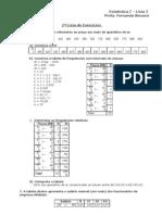 Estatística I - Lista 2 (resolvido)