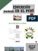 La Educación Rural en El Perú
