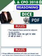 Dice Reasoning Ssc 04-06-18